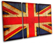 Abstract Union Jack Maps Flags - 13-1148(00B)-TR32-LO